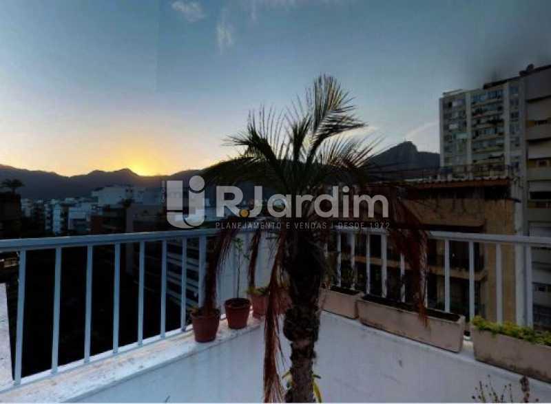 vista do terraço - Cobertura à venda Rua Alberto de Campos,Ipanema, Zona Sul,Rio de Janeiro - R$ 3.150.000 - LACO20084 - 19