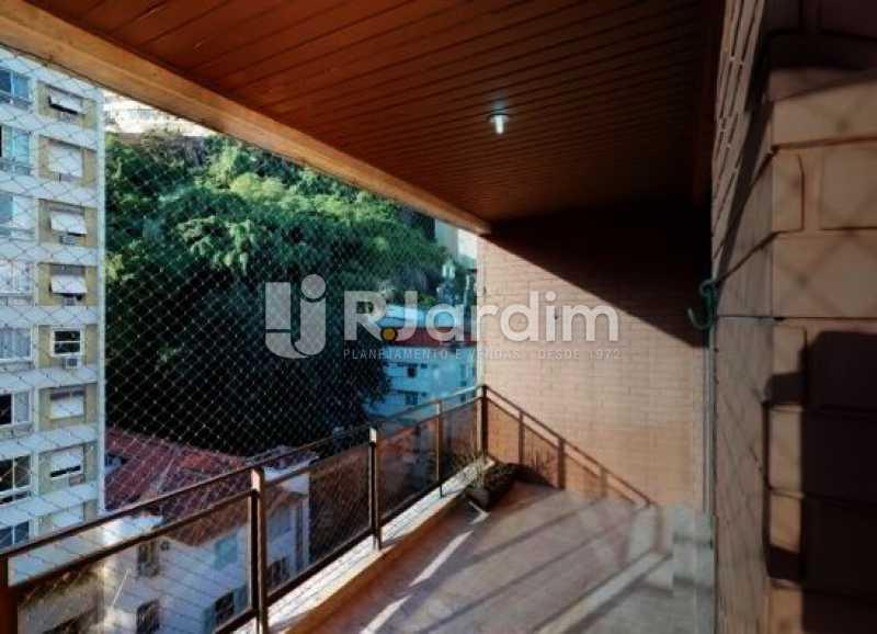 varanda - Cobertura à venda Rua Alberto de Campos,Ipanema, Zona Sul,Rio de Janeiro - R$ 3.150.000 - LACO20084 - 3