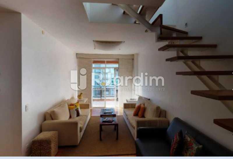 detalhe da sala - Cobertura à venda Rua Alberto de Campos,Ipanema, Zona Sul,Rio de Janeiro - R$ 3.150.000 - LACO20084 - 4