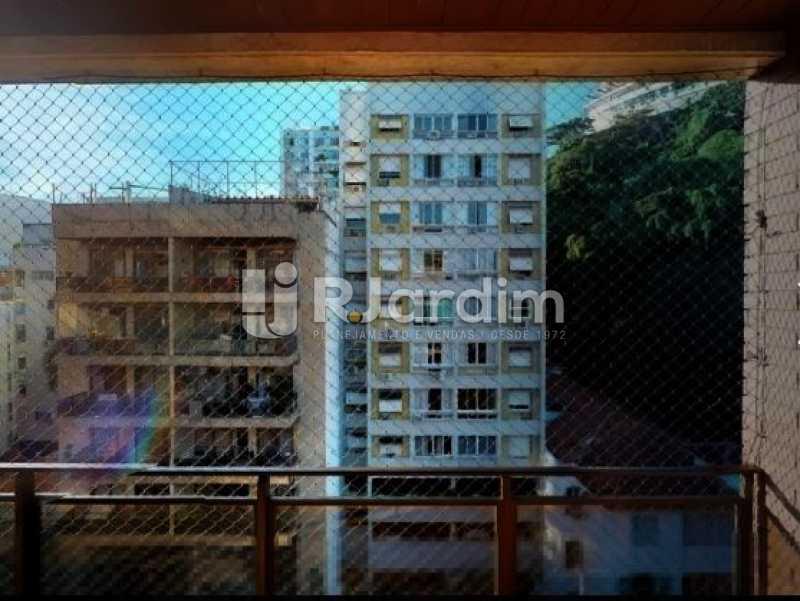 vista da varanda - Cobertura à venda Rua Alberto de Campos,Ipanema, Zona Sul,Rio de Janeiro - R$ 3.150.000 - LACO20084 - 5