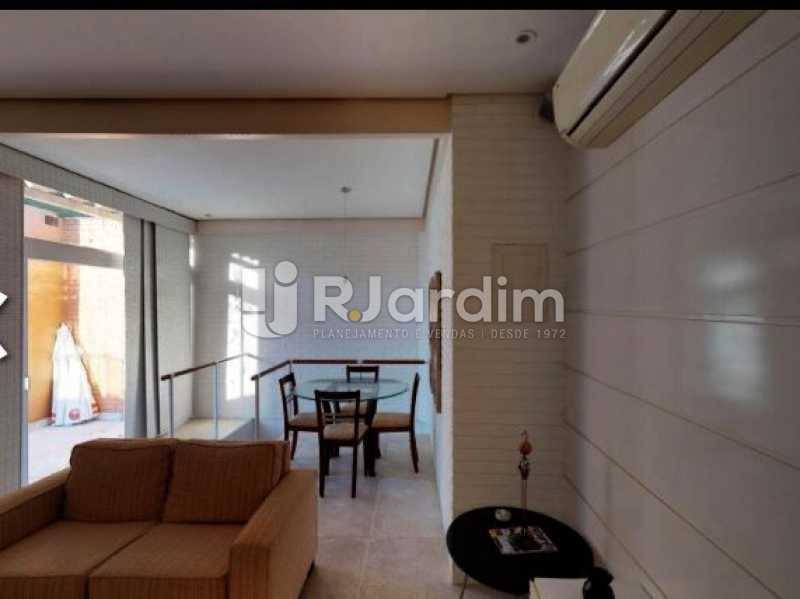 sala de estar 2º piso - Cobertura à venda Rua Alberto de Campos,Ipanema, Zona Sul,Rio de Janeiro - R$ 3.150.000 - LACO20084 - 9