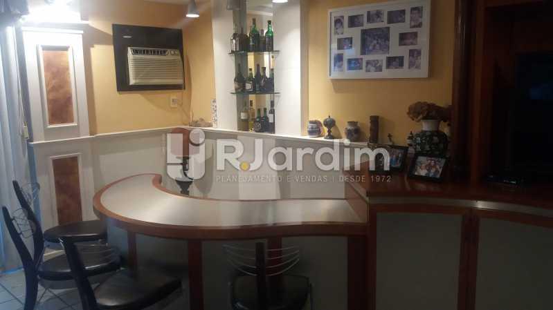 Salão/bar 2º piso - Cobertura À VENDA, Lagoa, Rio de Janeiro, RJ - LACO40157 - 9