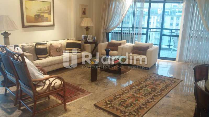 Sala 1º piso - Cobertura À VENDA, Lagoa, Rio de Janeiro, RJ - LACO40157 - 23