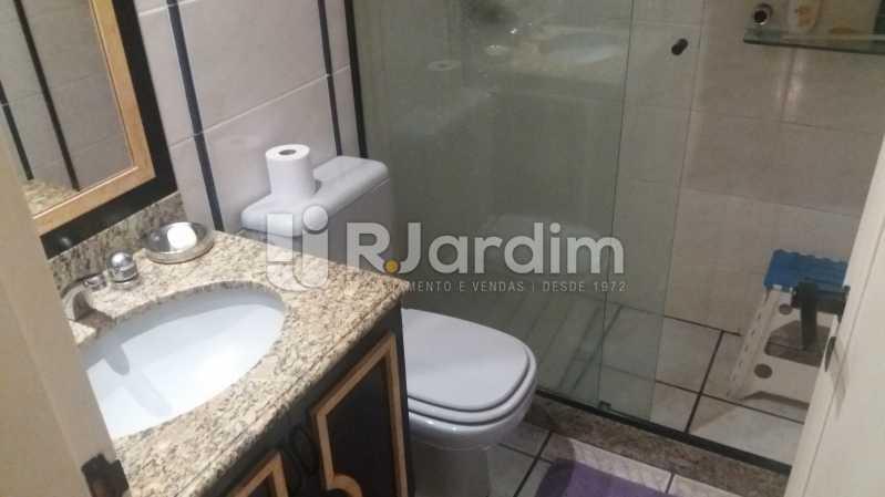 Banheiro suíte - Cobertura À VENDA, Lagoa, Rio de Janeiro, RJ - LACO40157 - 26