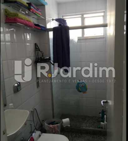 banheiro social - Cobertura À VENDA, Laranjeiras, Rio de Janeiro, RJ - LACO30241 - 22