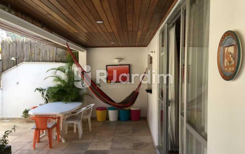 terraço cobertura - Cobertura À VENDA, Laranjeiras, Rio de Janeiro, RJ - LACO30241 - 7