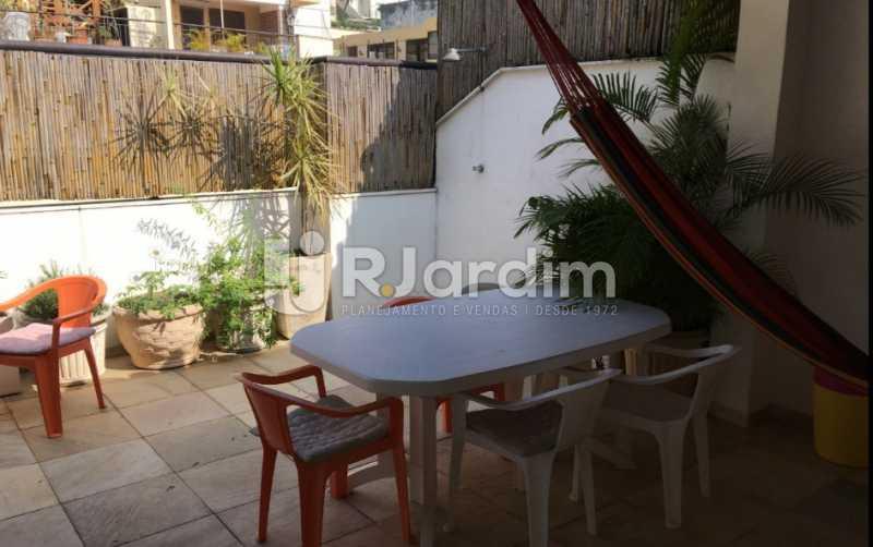 terraço cobertura - Cobertura À VENDA, Laranjeiras, Rio de Janeiro, RJ - LACO30241 - 6