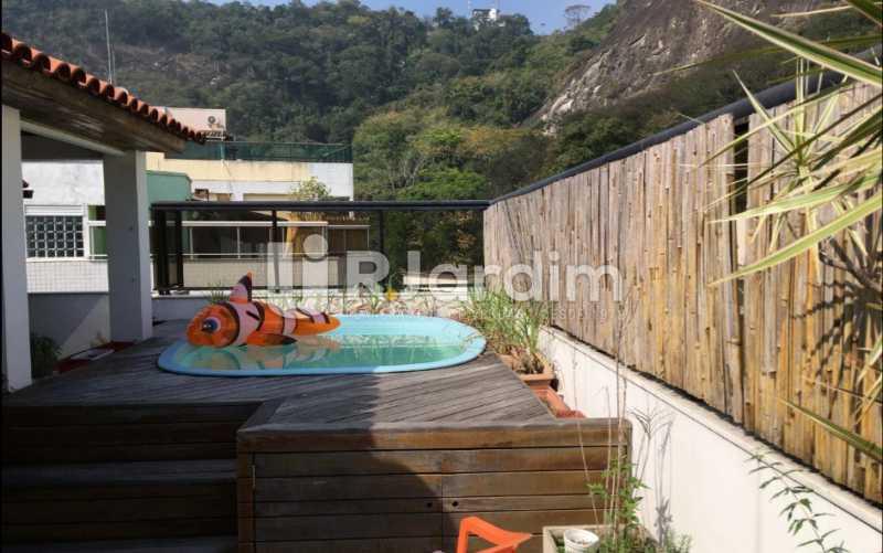 piscina - Cobertura À VENDA, Laranjeiras, Rio de Janeiro, RJ - LACO30241 - 1