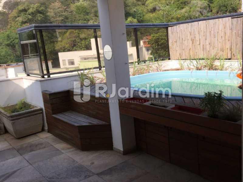 piscina - Cobertura À VENDA, Laranjeiras, Rio de Janeiro, RJ - LACO30241 - 3