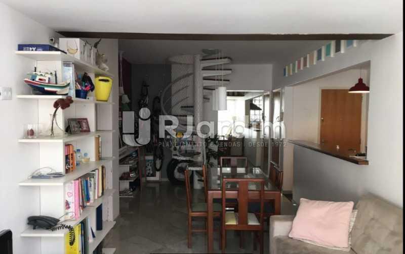 sala de estar e jantar - Cobertura À VENDA, Laranjeiras, Rio de Janeiro, RJ - LACO30241 - 11