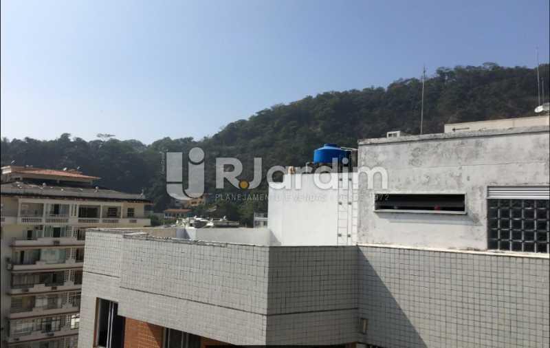 visão lateral - Cobertura À VENDA, Laranjeiras, Rio de Janeiro, RJ - LACO30241 - 9