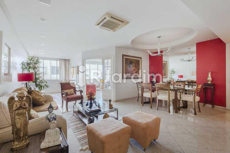 Sala de estar - Apartamento à venda Rua Santa Clara,Copacabana, Zona Sul,Rio de Janeiro - R$ 1.850.000 - LAAP40668 - 1