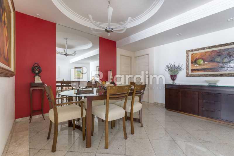 Sala de jantar - Apartamento à venda Rua Santa Clara,Copacabana, Zona Sul,Rio de Janeiro - R$ 1.850.000 - LAAP40668 - 4