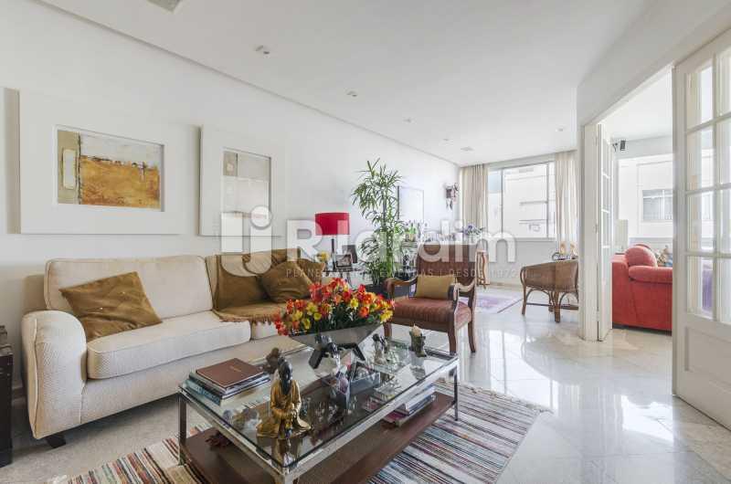 Sala de estar - Apartamento à venda Rua Santa Clara,Copacabana, Zona Sul,Rio de Janeiro - R$ 1.850.000 - LAAP40668 - 5