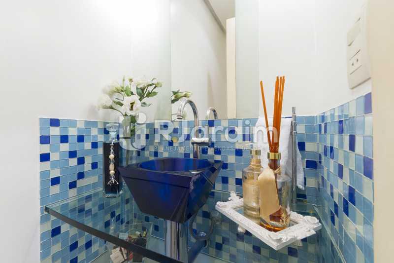 Lavabo - Apartamento à venda Rua Santa Clara,Copacabana, Zona Sul,Rio de Janeiro - R$ 1.850.000 - LAAP40668 - 13