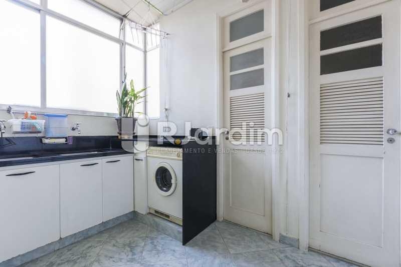 Lavanderia - Apartamento à venda Rua Santa Clara,Copacabana, Zona Sul,Rio de Janeiro - R$ 1.850.000 - LAAP40668 - 23