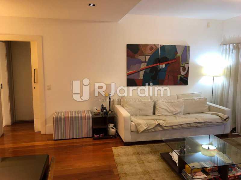 sala / entrada social  - Compra Venda Avaliação Imóveis Apartamento Lagoa 1 Quarto - LAAP10295 - 3