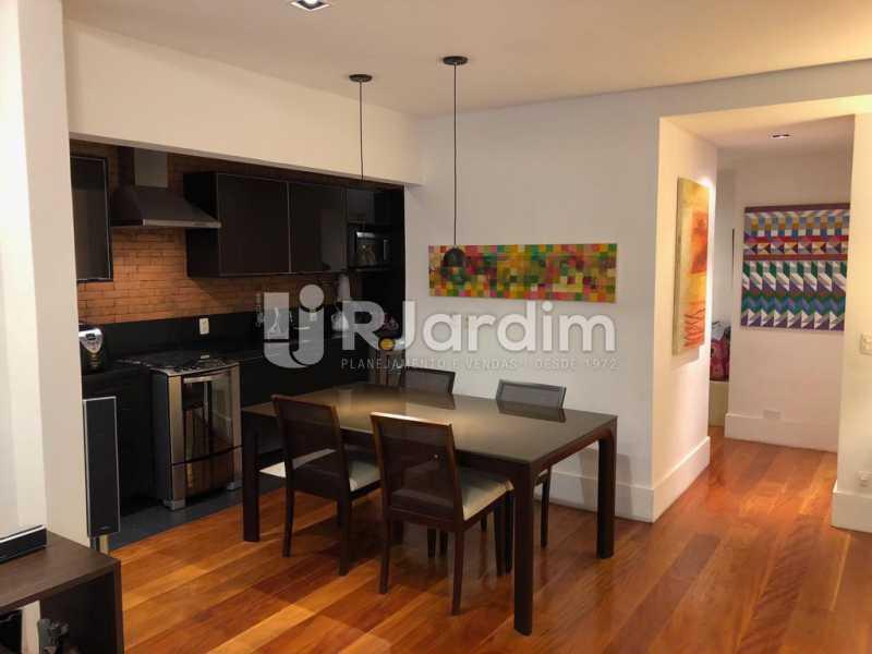 cozinha integrada - Compra Venda Avaliação Imóveis Apartamento Lagoa 1 Quarto - LAAP10295 - 6