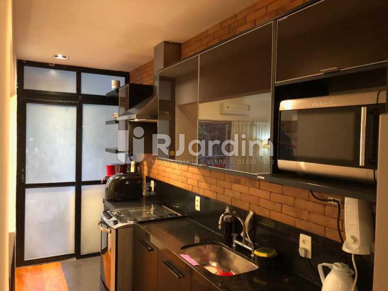 cozinha /área - Compra Venda Avaliação Imóveis Apartamento Lagoa 1 Quarto - LAAP10295 - 14