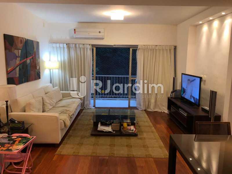 sala/varanda  - Compra Venda Avaliação Imóveis Apartamento Lagoa 1 Quarto - LAAP10295 - 4