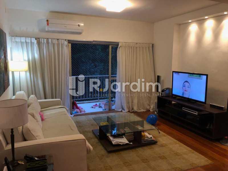 sala/varanda - Compra Venda Avaliação Imóveis Apartamento Lagoa 1 Quarto - LAAP10295 - 8