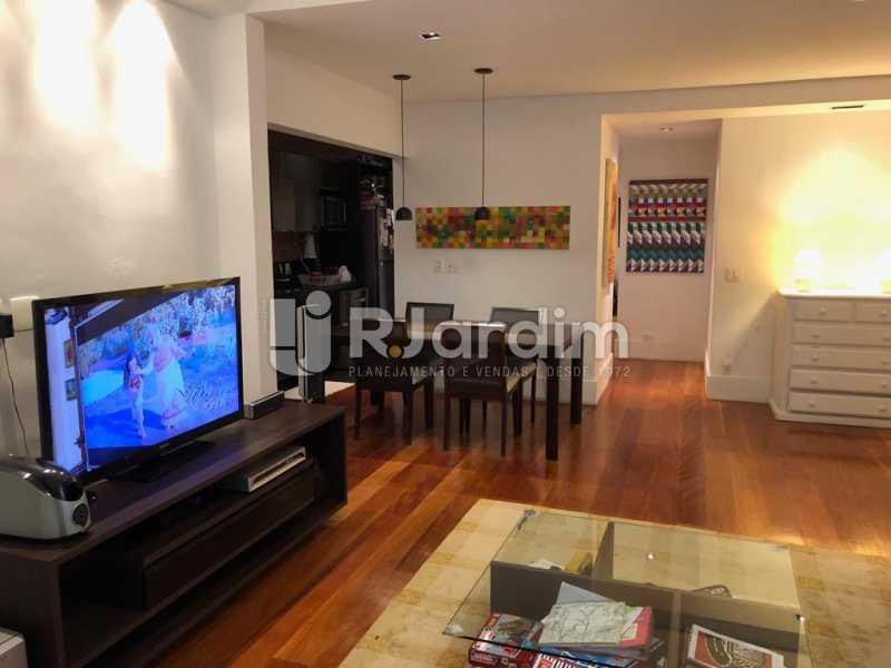 sala/cozinha integrada - Compra Venda Avaliação Imóveis Apartamento Lagoa 1 Quarto - LAAP10295 - 7