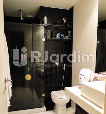 banheiro  - Compra Venda Avaliação Imóveis Apartamento Lagoa 1 Quarto - LAAP10295 - 12