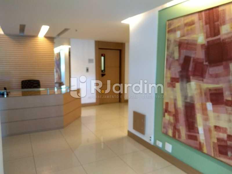 portaria  - Compra Venda Avaliação Imóveis Apartamento Lagoa 1 Quarto - LAAP10295 - 20