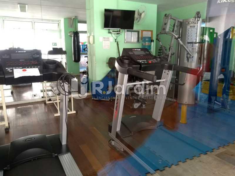 academia - Compra Venda Avaliação Imóveis Apartamento Lagoa 1 Quarto - LAAP10295 - 22