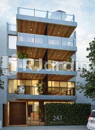 FACHADA - Apartamento À VENDA, Ipanema, Rio de Janeiro, RJ - LAAP21236 - 1