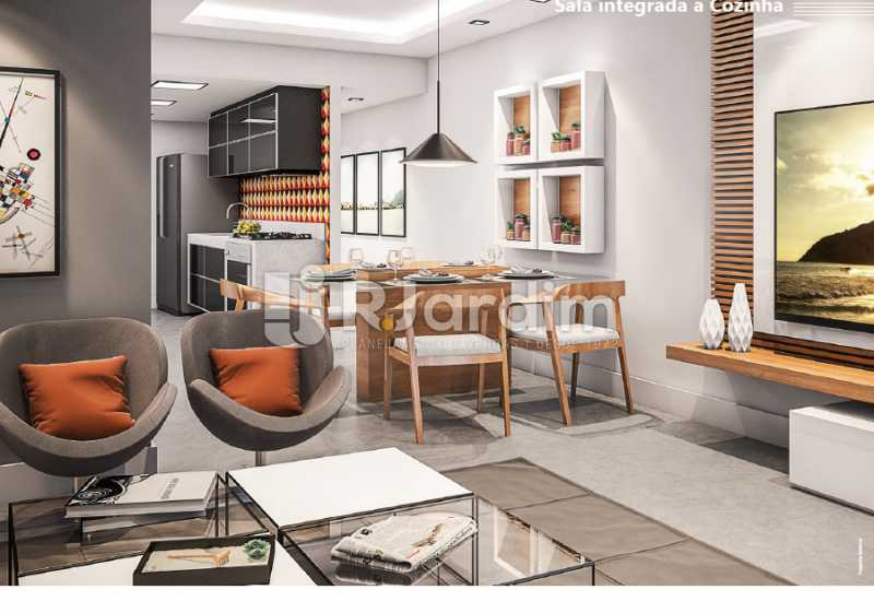 SALA INTEGRADA À COZINHA - Apartamento À VENDA, Ipanema, Rio de Janeiro, RJ - LAAP21236 - 4