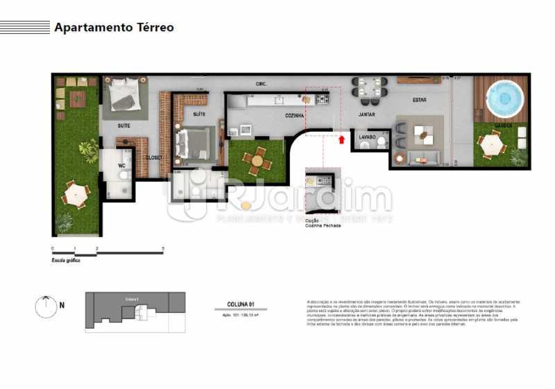 APARTAMENTO TÉRREO - Apartamento À VENDA, Ipanema, Rio de Janeiro, RJ - LAAP21236 - 7