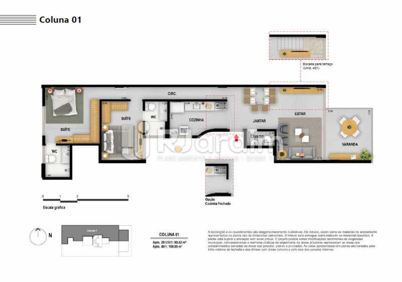 COLUNA 01 - Apartamento À VENDA, Ipanema, Rio de Janeiro, RJ - LAAP21236 - 8
