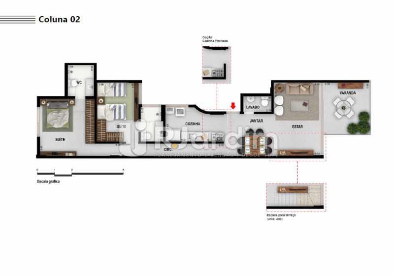 COLUNA 02 - Apartamento À VENDA, Ipanema, Rio de Janeiro, RJ - LAAP21236 - 9