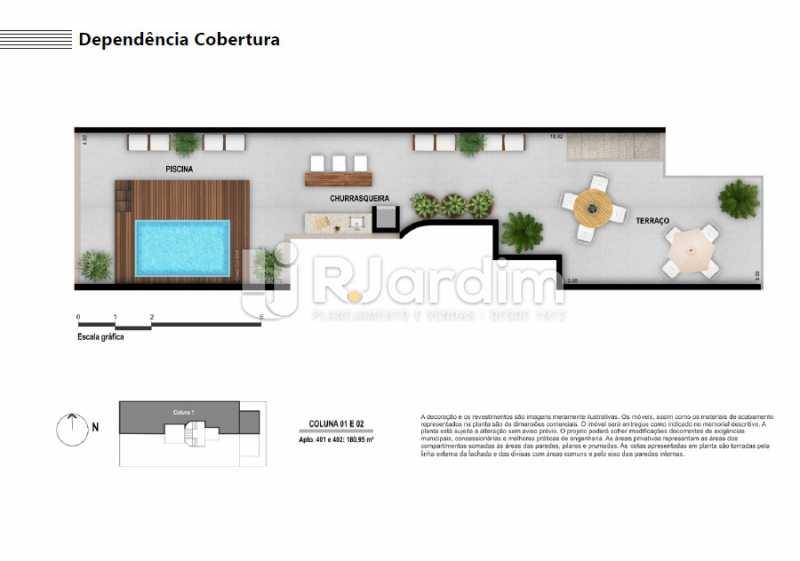 DEPÊNDENCIA COBERTURA - Apartamento À VENDA, Ipanema, Rio de Janeiro, RJ - LAAP21236 - 10