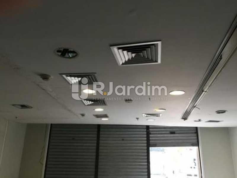 Instalação ar central - Loja Comercial Botafogo Aluguel - LALJ00115 - 9