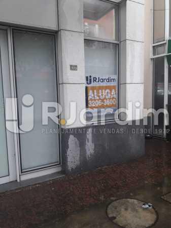 Frente da loja - Loja Comercial Barra da Tijuca Aluguel Administração Imóveis - LALJ00117 - 19