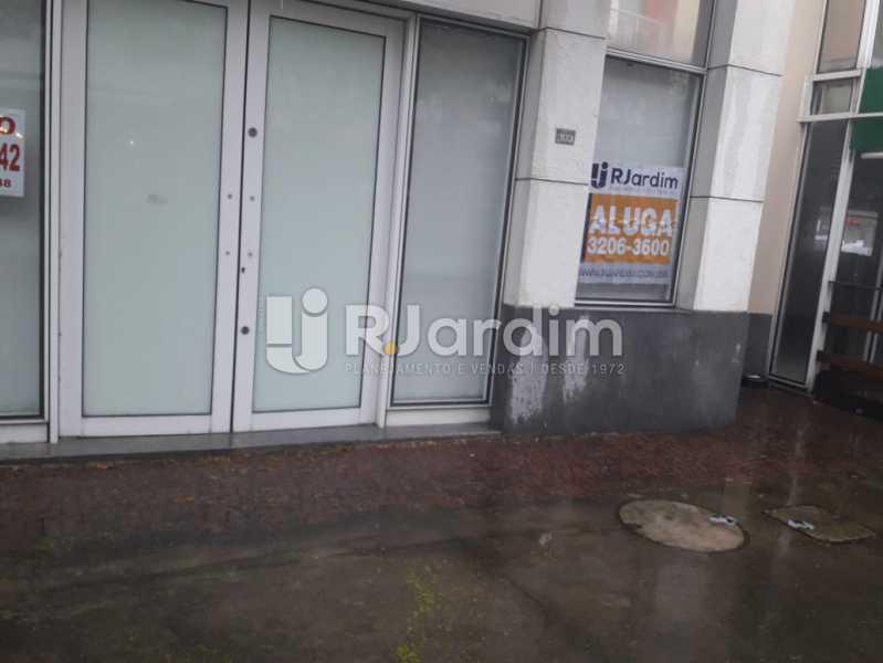 Fente da loja - Loja Comercial Barra da Tijuca Aluguel Administração Imóveis - LALJ00117 - 18