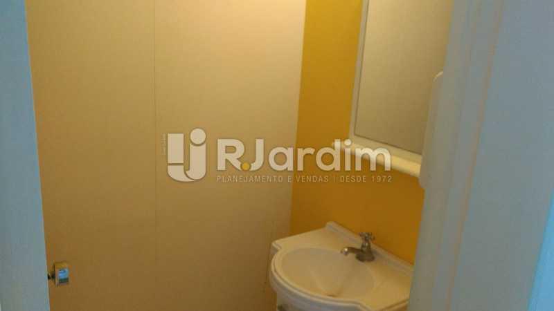 Banheiro - Compra Venda Avaliação Imóveis Sala Comercial Centro - LASL00163 - 10