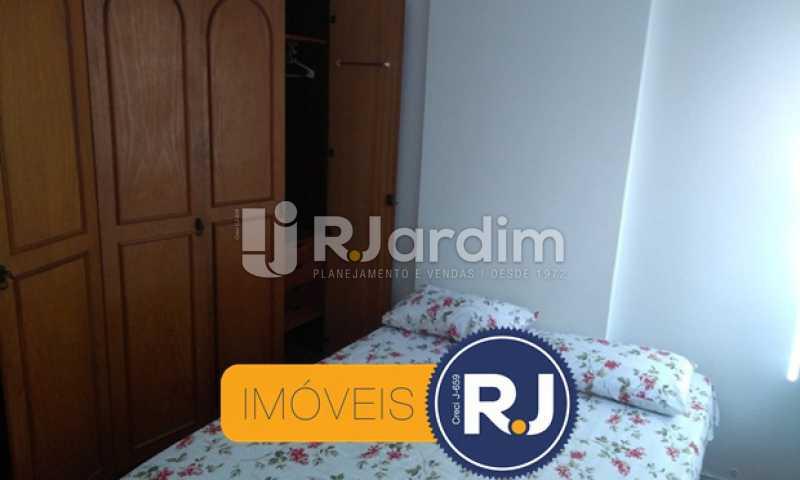 Quarto 2 - Compra Venda Avaliação Imóveis Apartamento Copacabana 3 Quartos - LAAP31762 - 12