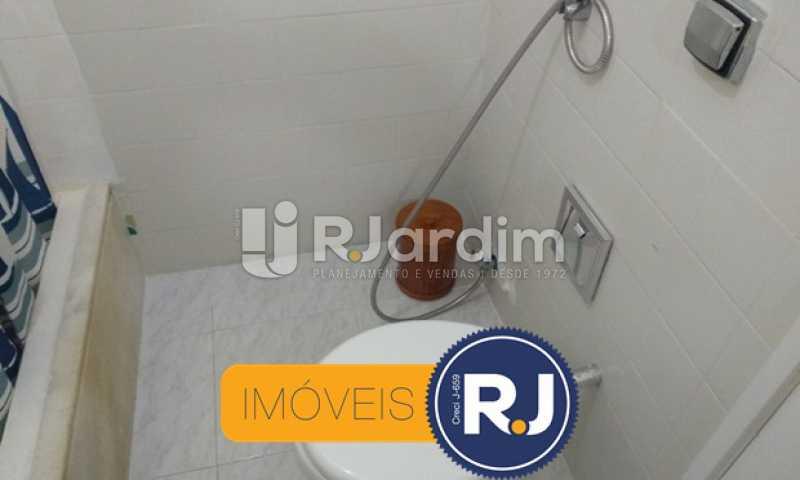 Banheiro Social - Compra Venda Avaliação Imóveis Apartamento Copacabana 3 Quartos - LAAP31762 - 21