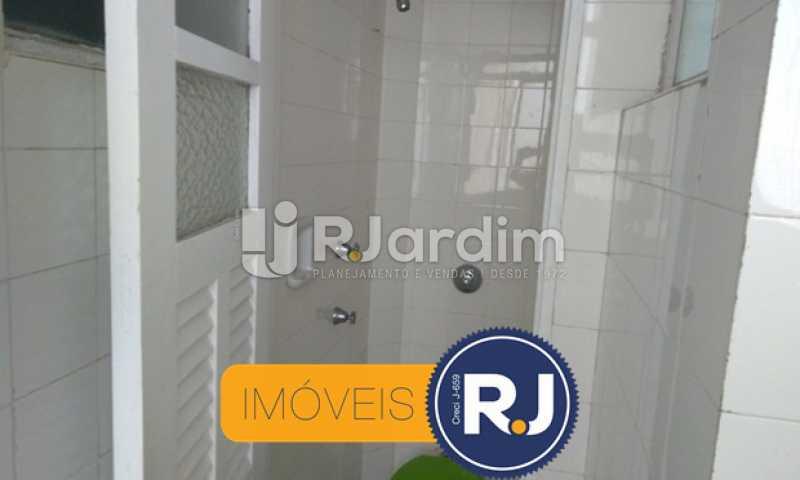 Banheiro de Empregada - Compra Venda Avaliação Imóveis Apartamento Copacabana 3 Quartos - LAAP31762 - 28