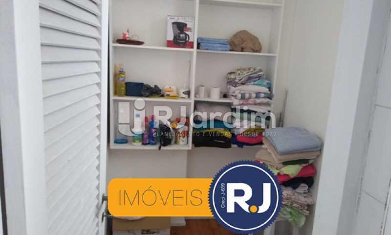 Quarto de Empregada - Compra Venda Avaliação Imóveis Apartamento Copacabana 3 Quartos - LAAP31762 - 30