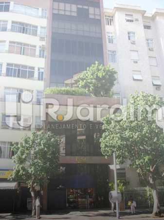 Fachada - imóveis Aluguel Sala Comercial Leblon - LASL00164 - 9
