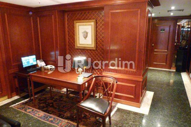 Hall Portaria - imóveis Aluguel Sala Comercial Leblon - LASL00164 - 19