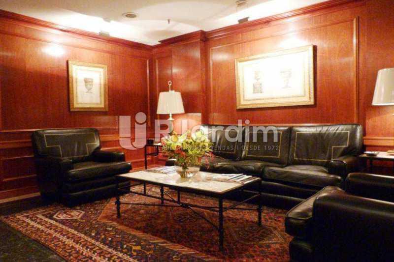 Hall Portaria - imóveis Aluguel Sala Comercial Leblon - LASL00164 - 17