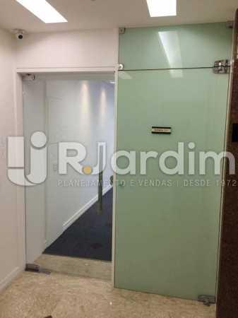 Hall em Vidro - imóveis Aluguel Sala Comercial Leblon - LASL00164 - 7