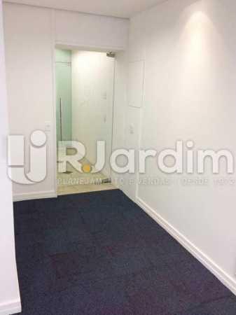 Salão e Recepção - imóveis Aluguel Sala Comercial Leblon - LASL00164 - 3
