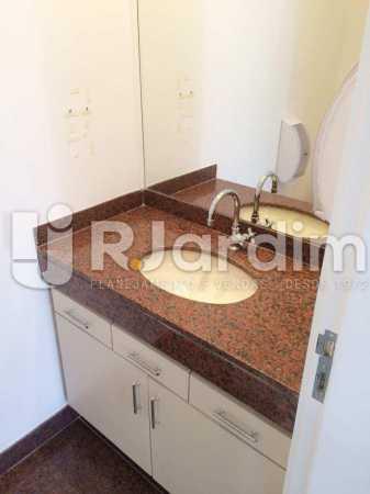 Banheiro Social - imóveis Aluguel Sala Comercial Leblon - LASL00164 - 13