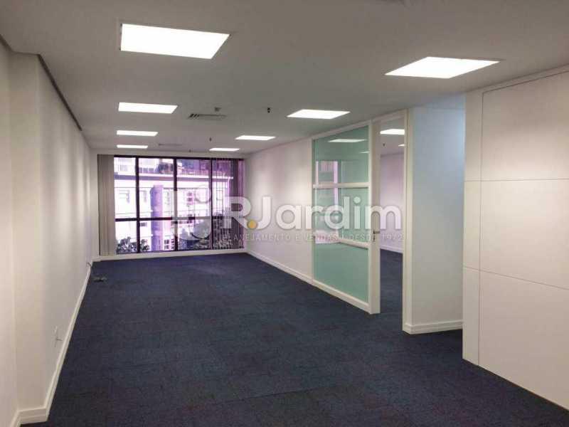 Salão c/Divisórias - imóveis Aluguel Sala Comercial Leblon - LASL00164 - 5